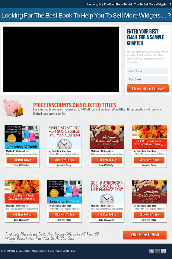 Marketing Graphics | Minisite Templates | Squeeze Page Templates ...